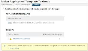 applications template sam 6 2 4 feature auto assign application templates based on