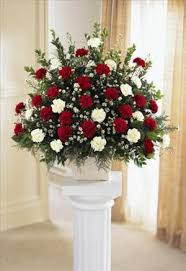 flower for funeral devotion arrangement san francisco funeral flowers colma funeral