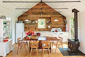 Small Cabin Kitchens - Small cabin interior design ideas