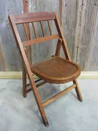 Wood Folding Chairs Vintage Wooden Folding Chair U003e Antique Table Stand Old Stool