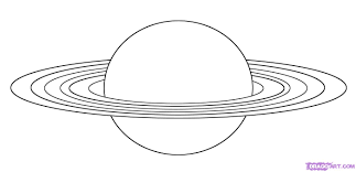how to draw saturn step by step outer space landmarks u0026 places