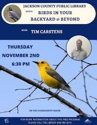 birds in your backyard u0026 beyond with tim carstens fontana