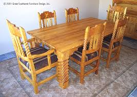 Southwest Outdoor Furniture by Sandia Southwest Style Dining Set Tables Chairs China Cabinets