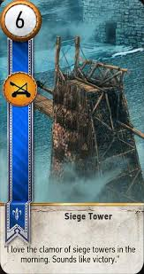 siege tower definition gwent the witcher 3 wiki