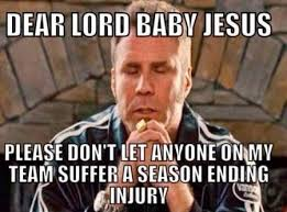 Injury Meme - fantasy player injuries sports memes pinterest