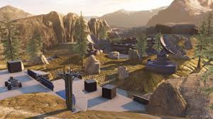 Halo 1 Maps Halo 5 Free Update Adds Big Team Battle 4 New Maps More Gamespot