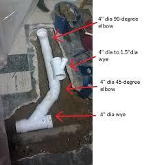 Plumbing For Basement Bathroom by How To Rough Plumb A Basement Bathroom Wikihow