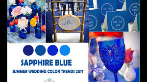 Color Trends by Summer Wedding Color Trends 2017 Youtube