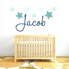 Fabric Wall Decals For Nursery Custom Name Wall Decal Nursery Wall Stickers Custom Vinyl Decals