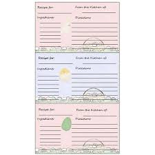 yummy 5 free printable recipe card templates for microsoft word