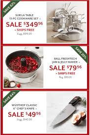 cookware deals black friday sur la table black friday 2017 sale u0026 deals blacker friday