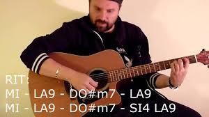 chitarra vasco tutorial come suonare un mondo migliore di vasco