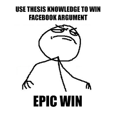 Epic Win Meme - what it s really like to do a phd matthew cunningham
