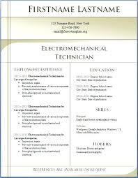 curriculum vitae format 2013 resume templates word 2013 5 free templates 1 to 7 curriculum