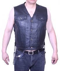 denim motorcycle jacket soft cow leather motorcycle mens sleeveless jean jacket style