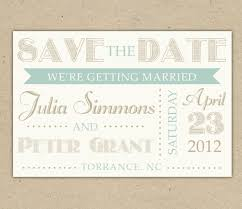 wedding invitations and save the dates 22 cool save the dates invitation card designs with typography and