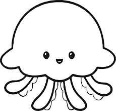 free coloring pages jellyfish jellyfish coloring page animal pages arilitv com jellyfish