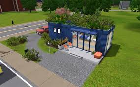 sims 3 updates mod the sims shipping container home by
