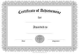blank certificate blank certificate templates to print activity