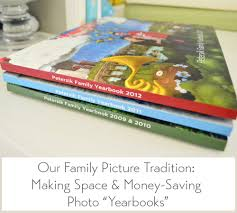 family yearbook our annual family photo book house