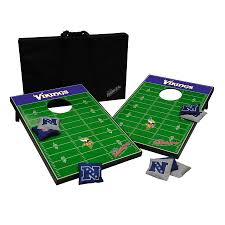 shop wild sports minnesota vikings outdoor corn hole party game at