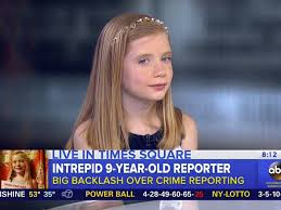 60 year old hair color 9 year old crime reporter scoops the pros with her own newspaper