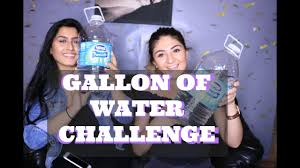 Challenge Water Wrong Gallon Of Water Challenge Wrong