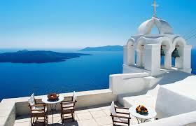 exterior design outstanding grace hotel santorini with cupola