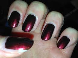 black colored french manicure rajawali racing