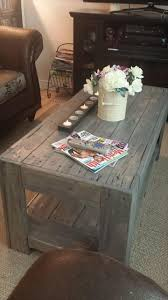 Pallet Furniture Side Table Diy Wood Pallet Coffee Table