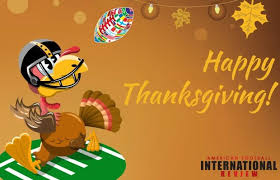 happy thanksgiving american football international