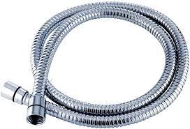 triton 1 25m anti kink shower hose chrome amazon co uk diy u0026 tools