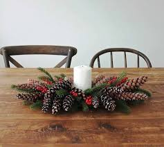 Ideas For Christmas Centerpieces - pine cone decorating ideas for the holidays homesteading