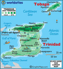 where is and tobago located on the world map and tobago map geography of and tobago map
