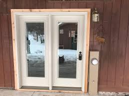 patio doors in wild rose wi oakwood exteriors