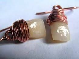 human earrings 15 hauntingly beautiful and creepy human tooth jewelry exles