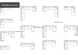 sofas in plan with dimensions cad blocks free download autocad blocks