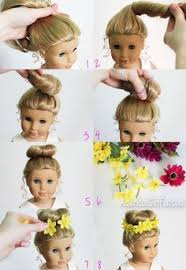 cute hairstyles for our generation dolls you can fix your 18 inch doll or american girl doll s hair at home