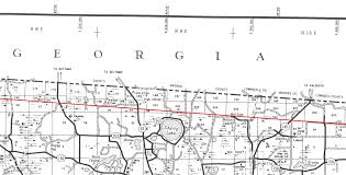 Map Of Georgia And Florida On The Border Part Ii The Florida Memory Blog