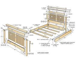bed designs plans bed plans home plans