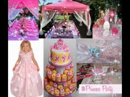 Princess Party Decorations Disney Princess Party Decorations Ideas Youtube