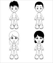 paper dolls free u0026 premium templates