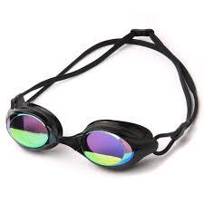 best goggles poqswim aqua mirrored swim goggles 8300 anti fog uv protection