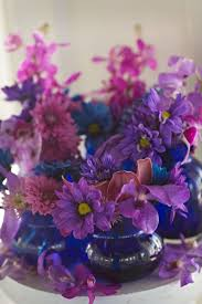 Blue Vases For Wedding 60 Best Purple And Blue Color Theme Images On Pinterest Color
