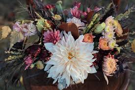 wedding flowers november autumn wedding bouquet inspiration philly in