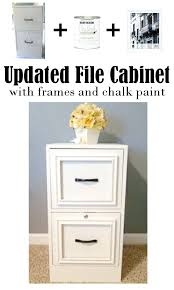 Chalk Paint On Metal Filing Cabinet Home Office Filing Cabinet Organizing Your Home Office Becomes