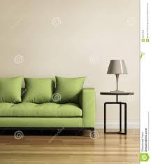 living room with a light green sofa stock photo image 65427632