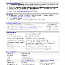 Sample Resume For Experienced Software Engineer Doc by Comely Software Engineer Resume Example Software Developer Resume