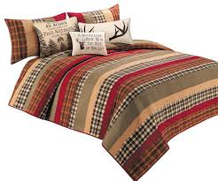 Twin Plaid Comforter Plaid Comforters And Quilts Plaid Twin Bedspread Izod Fairfax