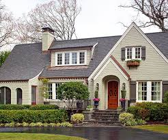 best exterior color schemes roof colors gray green and